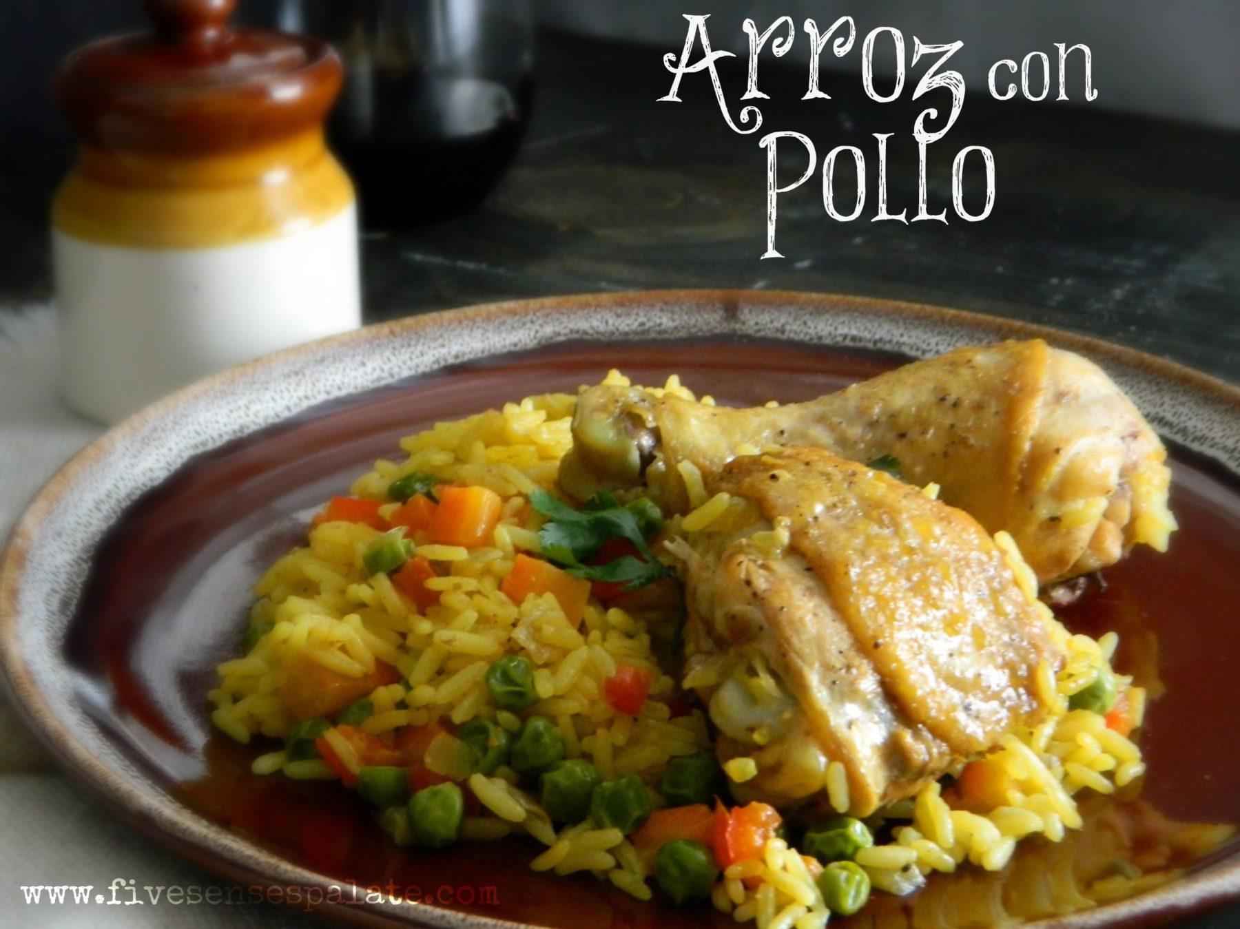 Arroz con pollo one pot wonder five senses palate - Arroz con verduras y costillas ...